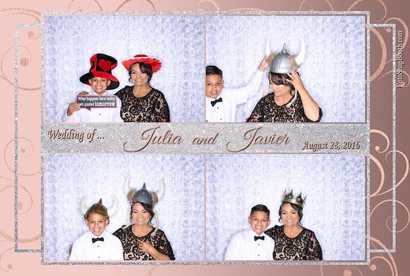Julia & Javier's Wedding 2016