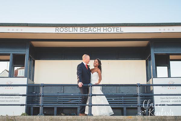 Amanda & Simon @ Roslin Beach Hotel
