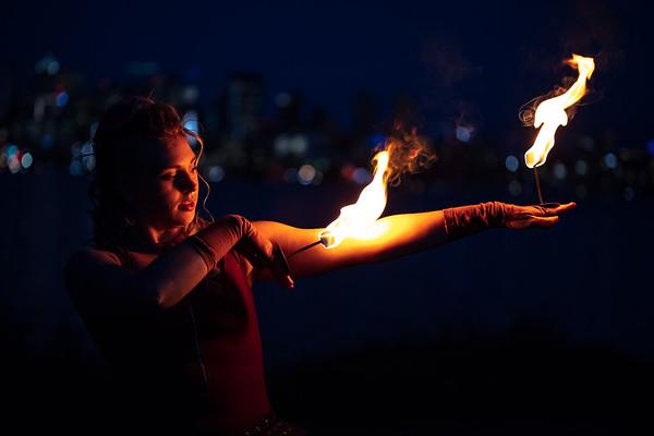 Matia Fire Photoshoot