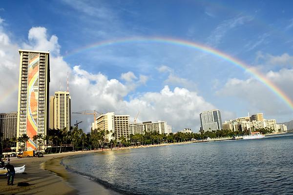 Hilton Hawaiian Village  Family Photos