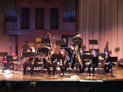 Jazz Ensemble at MTSU, 2010