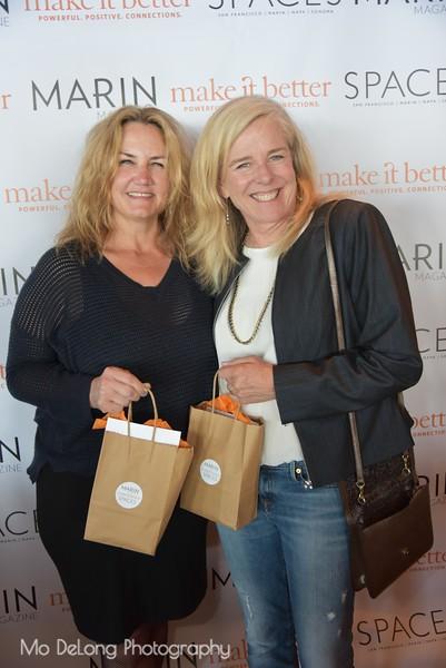 Kirstie Martinelli and Denise Lamott