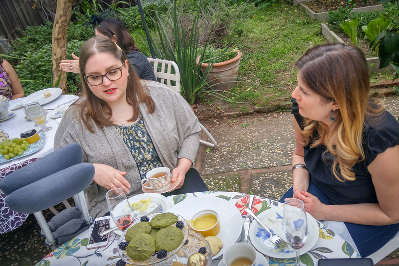 A Downton Abbey Tea Party + Tips for hosting an afternoon tea