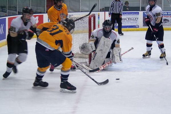Hatfield Ice Hawks at Wilkes-Barre Junior Pens 11-15-2014