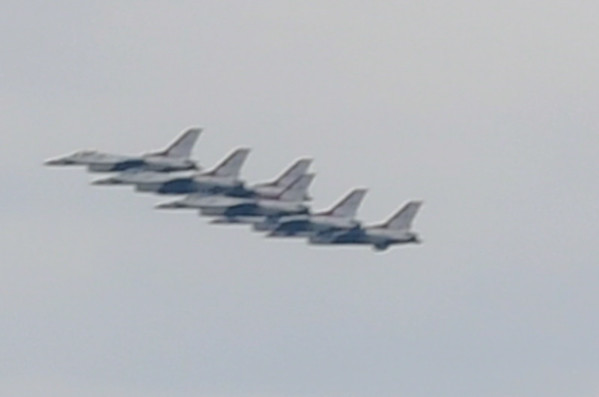 Thunderbirds over Denver - April 18 2020
