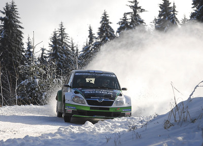 Jaenner Rally ERC Autriche