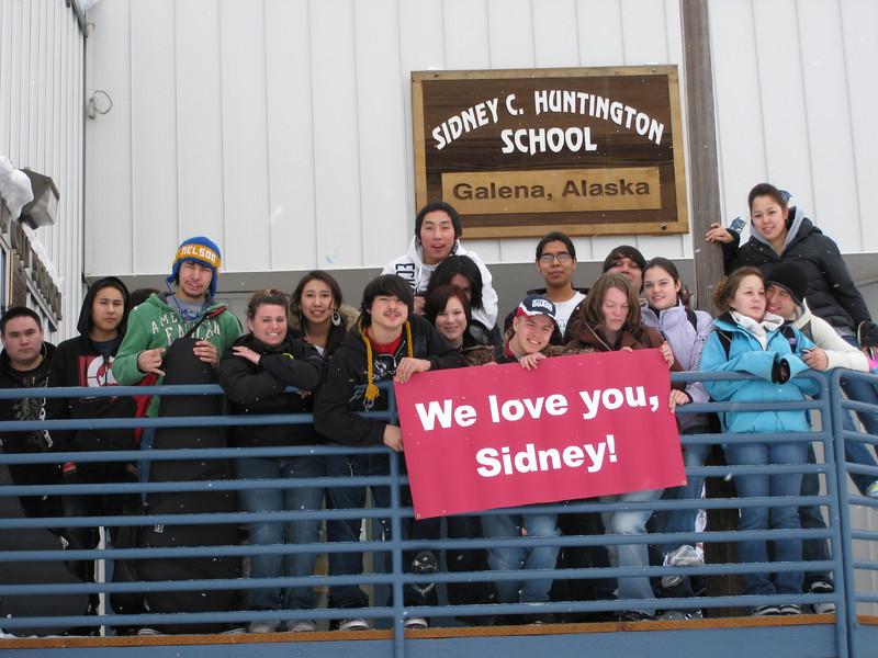 Sidney C. Huntington School, Galena 2010