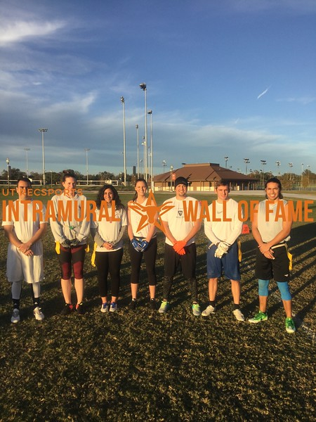 Fall 2017 Flag Football Coed A Runner Up NWO Elite