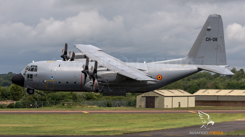 Belgian Air Force 20th Squadron / Lockheed C-130H Hercules / CH-08