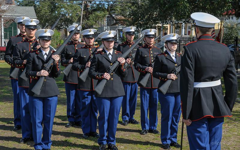 ROTC Drill Comp. 01/25/2020