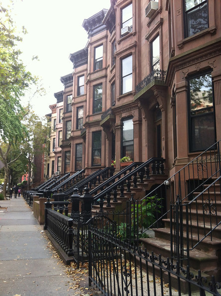 Brooklyn Heights historic brownstone district