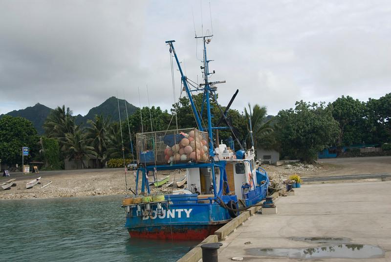 Fishing Boat, Rarotonga