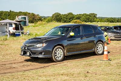 Black Subaru WRX Wagon