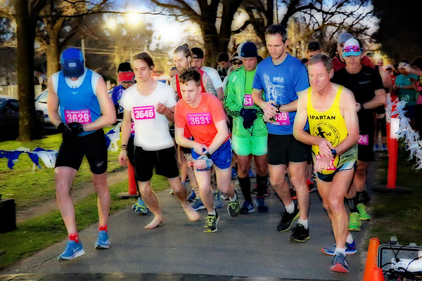 2018 Sri Chinmoy Princes Park Winter Running Festival