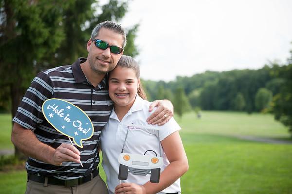 Girls Golf Daddy Caddy
