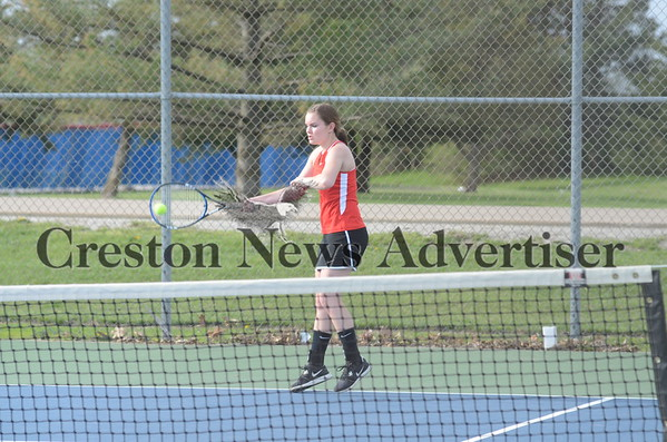 05-07 CHS vs. Chariton girls Tennis
