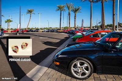 Porsche Chandler Classic Car Show - 11/18/17