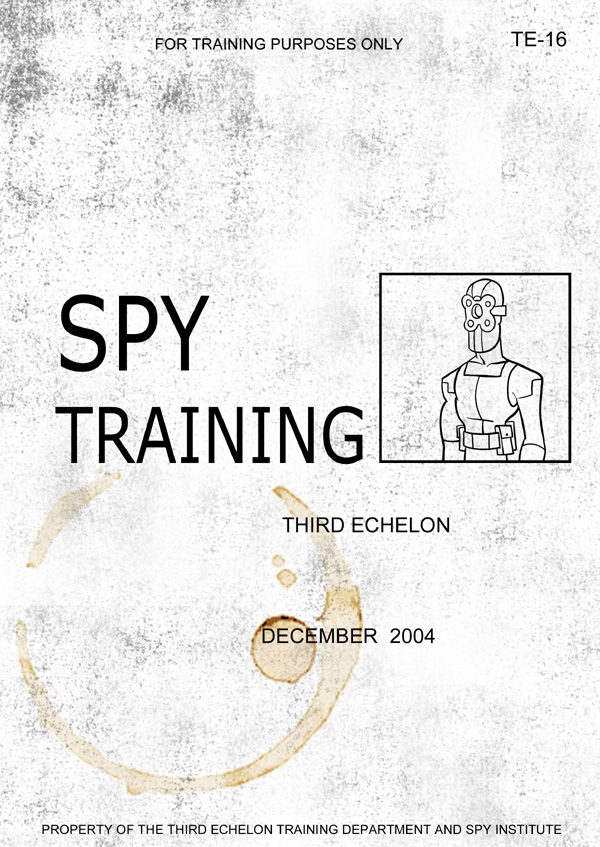 Splinter Cell Chaos Theory Spy Manual Cover