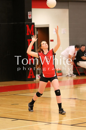 Mena vs Mansfield - 9th Grade Volleyball 2013