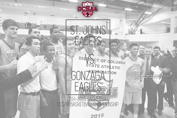 St John's vs Gonzaga - DCSAA Boys Title game