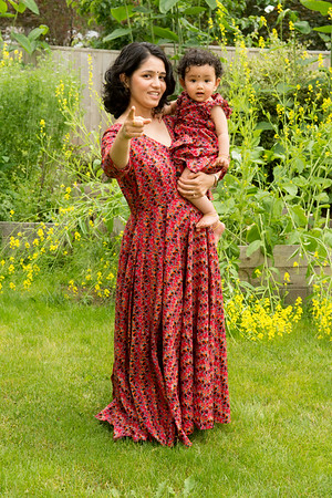 Shrddha Kc -Family photos