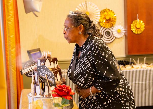 DOROTHY'S 70TH BIRTHDAY-RETIREMENT CELEBRATION