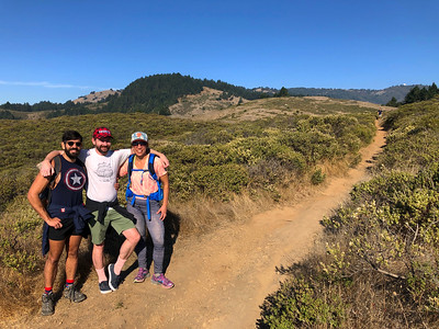 Mt Tam Pantoll Camp and Hike: Nov 7-10, 2019