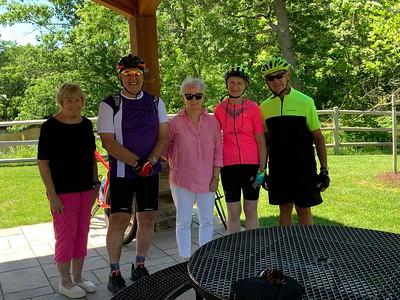 June 17 Thursday Rail Trail Ride