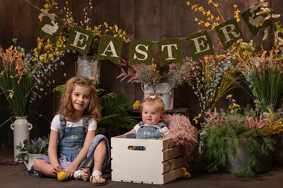 Georgia and Iris Easter Mini