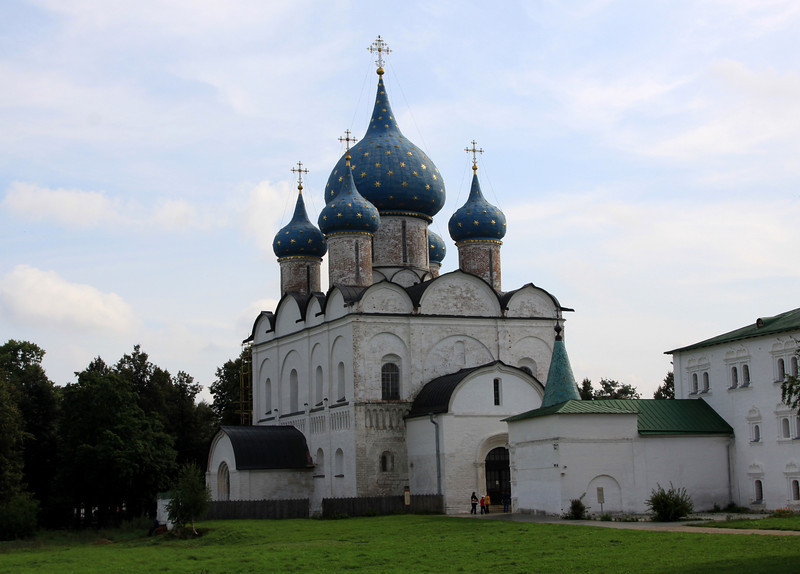 Suzdal - Suzdal Kremlin; The Nativity of the Virgin Cathedral.