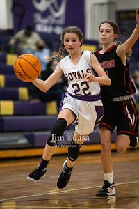 Basketball (JH Girls) vs Crossings, January 7