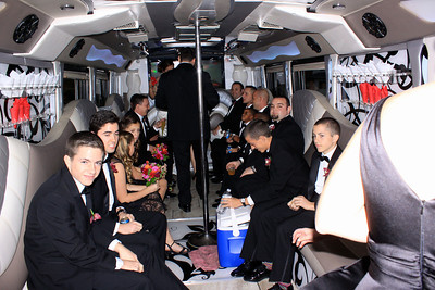 Party Bus On Way to Reception