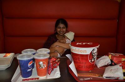 Vimal Family @ KFC 🔒