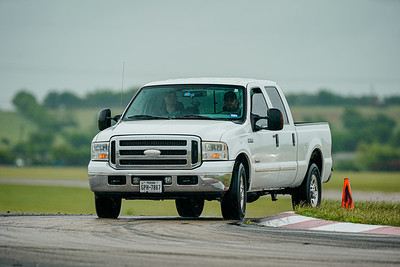 White Ford F250