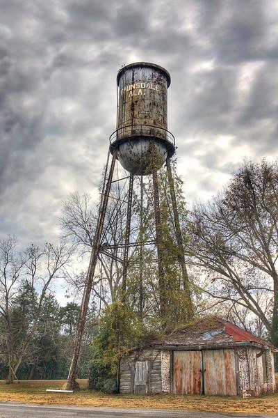 Faunsdale, Alabama water tank