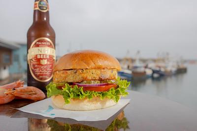 Monkfish-Prawn-Burger