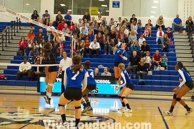 Volleyball: Stone Bridge @ Tuscarora 10.16.13 (by Jeff Scudder)