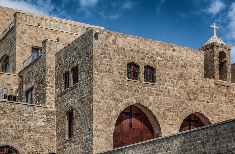 Church in Old Jaffa