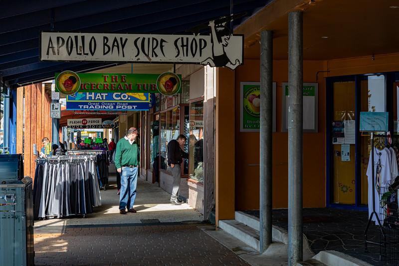 Apollo Bay Shopping