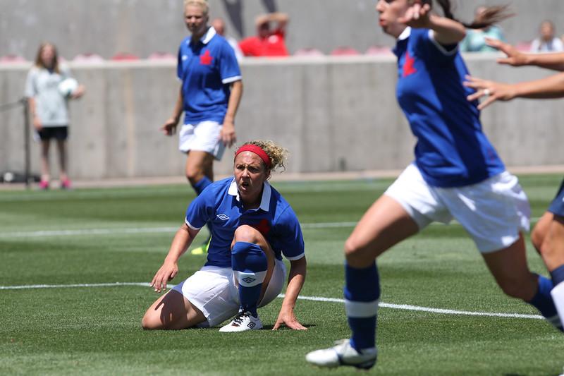 SOCCER: JUN 30 Women's - USA v Canada