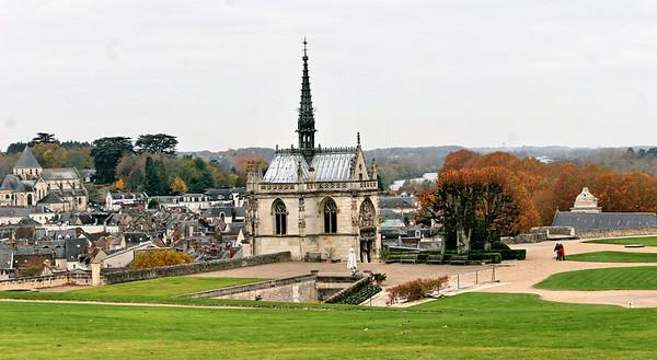 Chateau d'Amboise - la Chapelle