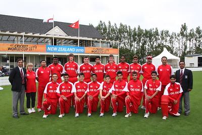 Group A: HKG U19 v. ENG U19, 16 Jan 2010