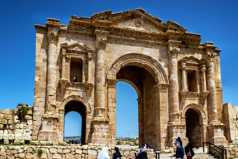 Jerash │ Arch of Hadrian