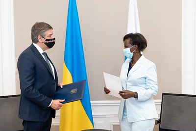 SEM Vadym OMELCHENKO, Ambassadeur Extraordinaire et Plénipotentiaire d'Ukraine en République Française - Paris
