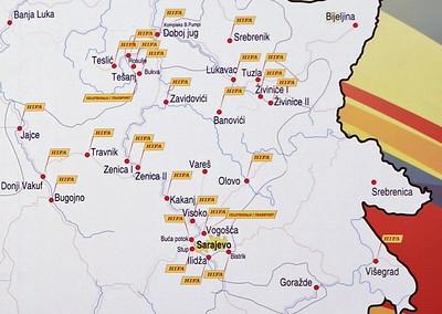 Bosnia: Tuzla coalfield railway, 2014 1
