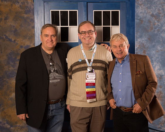 Frazer Hines and Michael Troughton 3pm