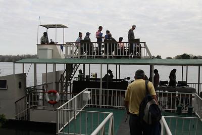 Boat trip on Zambezi