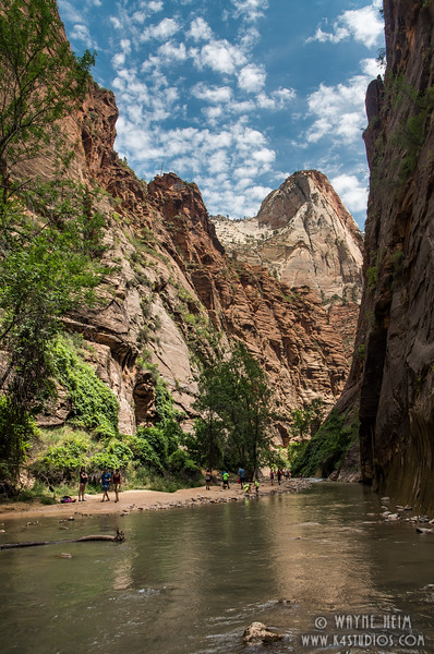 Walk by the Canyon River  Photography by Wayne Heim