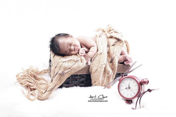 Baby Ray Angelo Cellona | Studio Glam Shoot