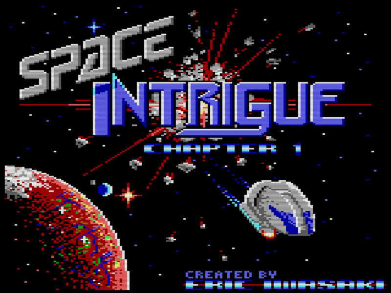 Space Intrigue: Chapter 1